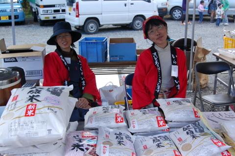 木の花販売促進担当!のあきちゃん(左)が、今回のイベントの立役者です!