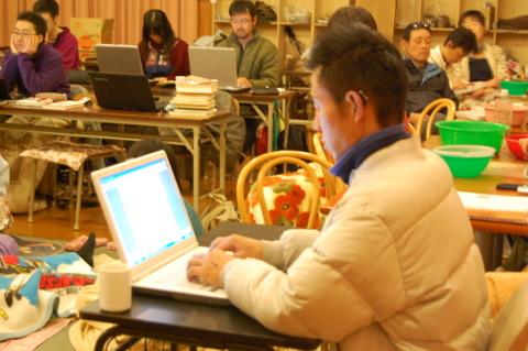 今は、こまねちとあっちゃんが書記担当。書記ノートは、大人会議の内容を復習するのに重宝しています!
