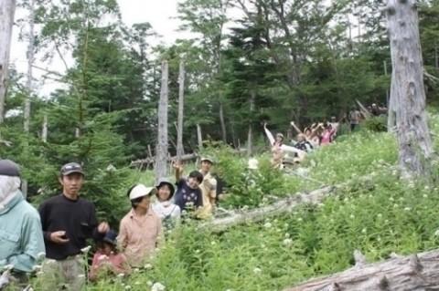 みんなといっしょに、富士登山