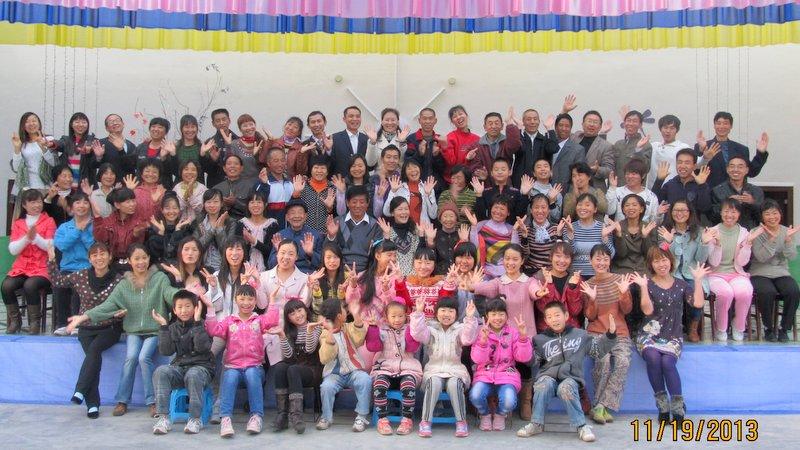 2年前、一つの家族となった時の生命禅院メンバーたち